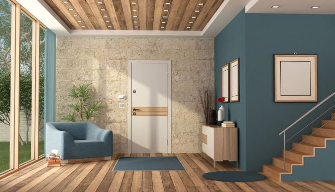 Three Wall Colors That Go With Dark Prefinished Hardwood Floors