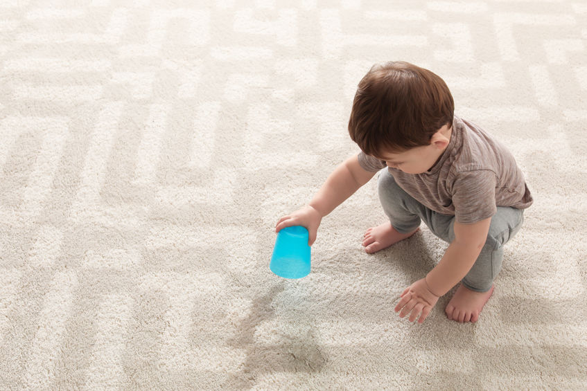 Saving your Carpet from your Kids
